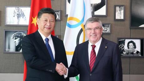 习近平指出,临时以来,国际奥委会和巴赫主席、罗格声誉主席为国际奥林匹克活动安康开展作出了紧张奉献,也为中国主动送彩金奇迹提供了宏大协助,我对此表现赞赏。中国坚决支持并积极到场奥林匹克活动。