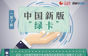 """一图理解中国新版""""绿卡"""""""