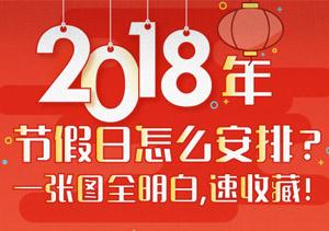 2018年节沐日怎样布置?一张图全明确