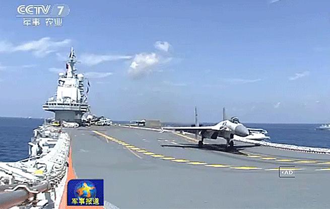 辽宁舰编队展开实战化对立演练-体系化训练逐渐常态化