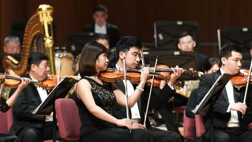 两岸交响乐团在台北携手上演