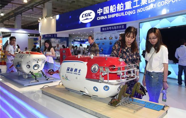 高科技闪灼北京科博会