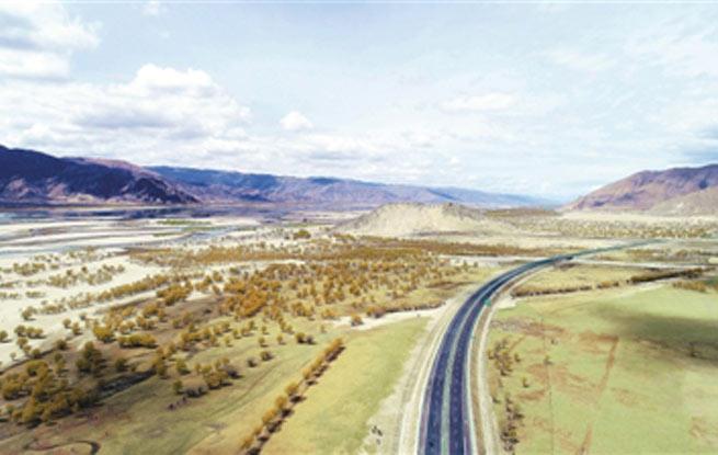 西藏继续推进治沙造林