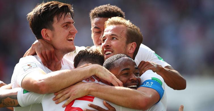 高清:凯恩帽子戏法 斯通斯梅开二度 英格兰6-1大胜巴拿马