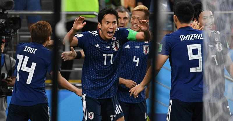 高清:马内瓦格乾贵士本田圭佑立功 日本2-2平塞内加尔
