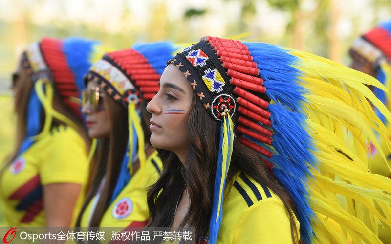 哥伦比亚玉人球迷