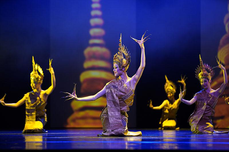 《沉香·肆》在北京舞蹈学院首演 传统乐舞大放异彩