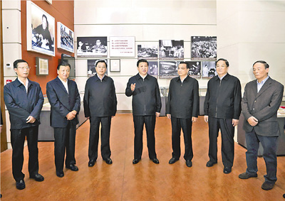 习近平:承前启后 继往开来 继续朝着中华民族伟大复兴目标奋勇前进