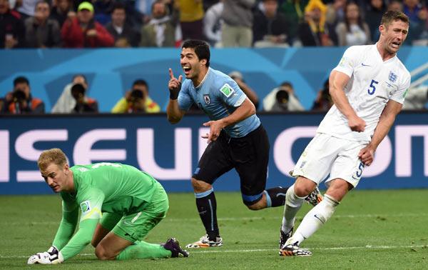 当日,在巴西圣保罗进行的2014年巴西世界杯小组赛D组比赛中,乌图片