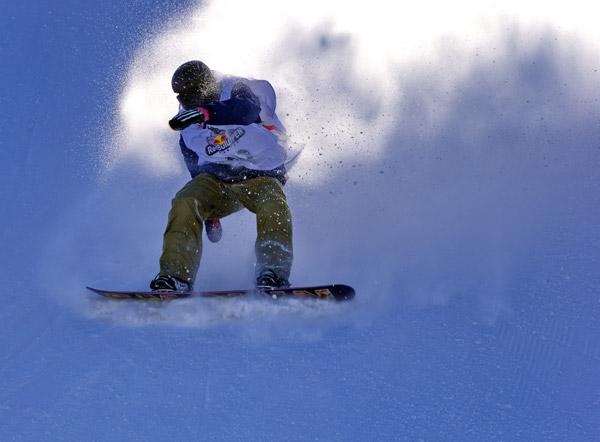 单板滑雪公开赛密云开赛--时政--人民网