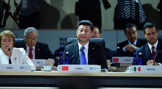 习近平出席第四届核安全峰会模拟场景互动讨论会