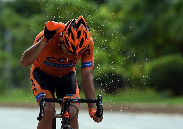 2016环海南岛国际公路自行车赛第三赛段赛况