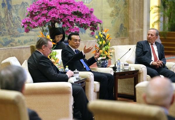 李克强:全球化问