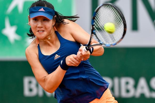 法国网球公开赛 段莹莹止步首轮图片 172688 600x399