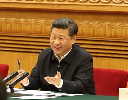 """我们的组长习近平 """"让互联网发展成果惠及13亿中国人民"""""""