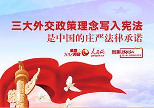 三大外交写入宪法是中国的庄严法律承诺