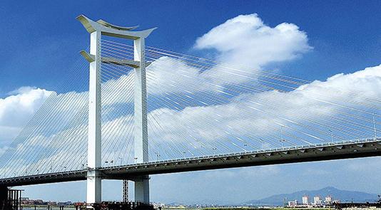 """晋江大桥——世界第一座""""开""""字形斜拉桥"""