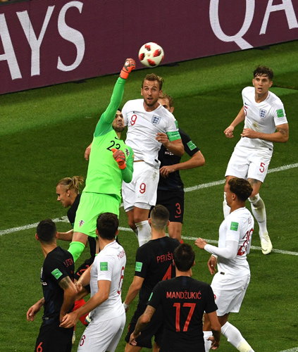 世界杯人物:克罗地亚队门将苏巴西奇