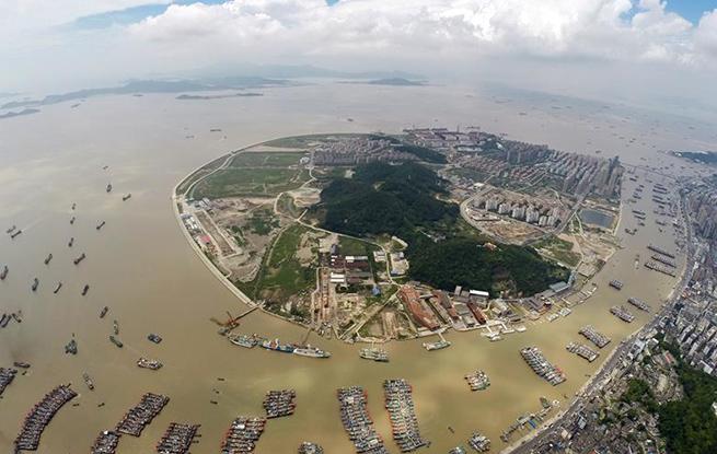 舟山:江海联运货畅其流