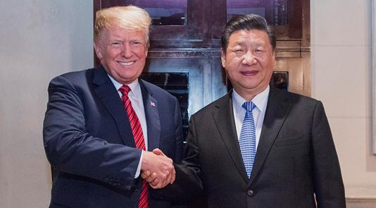习近平同特朗普举行中美元首会晤