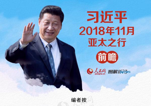 图解:习近平2018年11月亚太之行前瞻