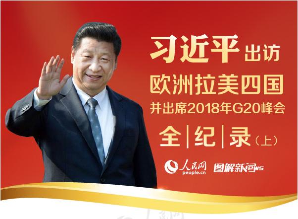 图解:习近平出访欧洲拉美四国并出席2018年G20峰会全纪录(上)
