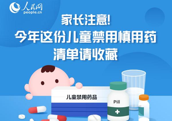 图解:家长注意!今年这份儿童禁用慎用药清单请收藏