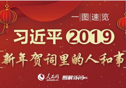 一图速览习近平2019新年贺词里的人和事-图解 推动长江经济带发展,