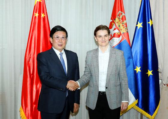 塞尔维亚总理布尔纳比奇会见赵克志