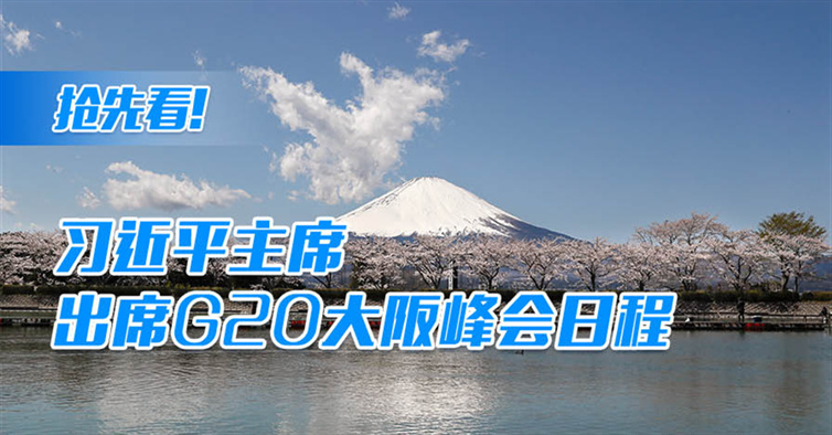 抢先看!习近平主席出席G20大阪峰