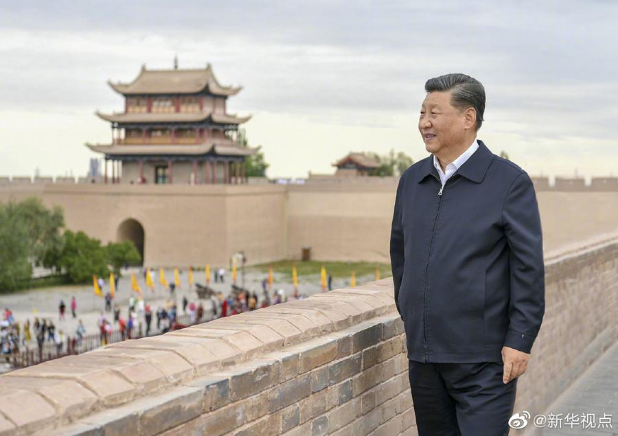 德孝中华周刊文摘:习近平-保护好中华民族的象征