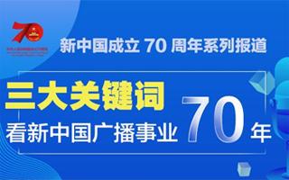 三大关键词看新中国广播事业70年