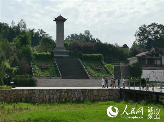 桑植作为贺龙元帅的故乡,吸引不少游客前来。