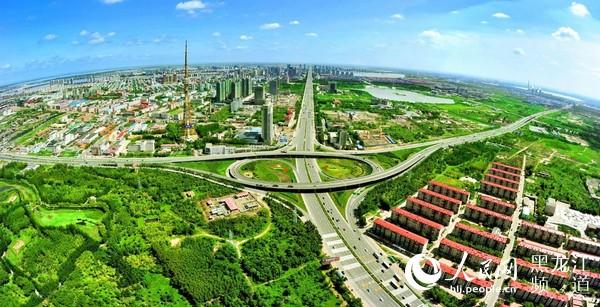 """大庆正在争当全国资源型城市转型发展""""排头兵"""""""