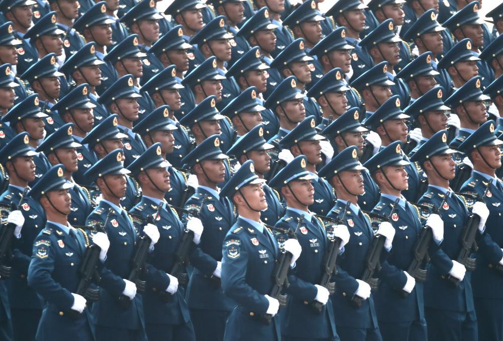 庆祝中华人民共和国成立70周年大会:受阅徒步方队