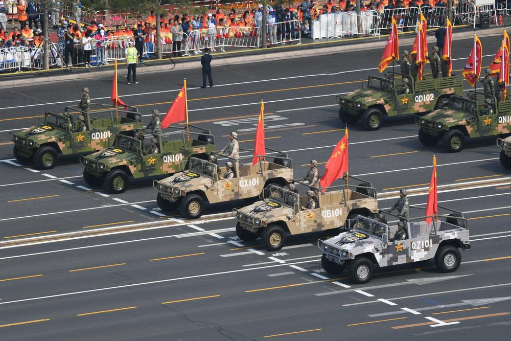 庆祝中华人民共和国成立70周年大会:受阅装备方队