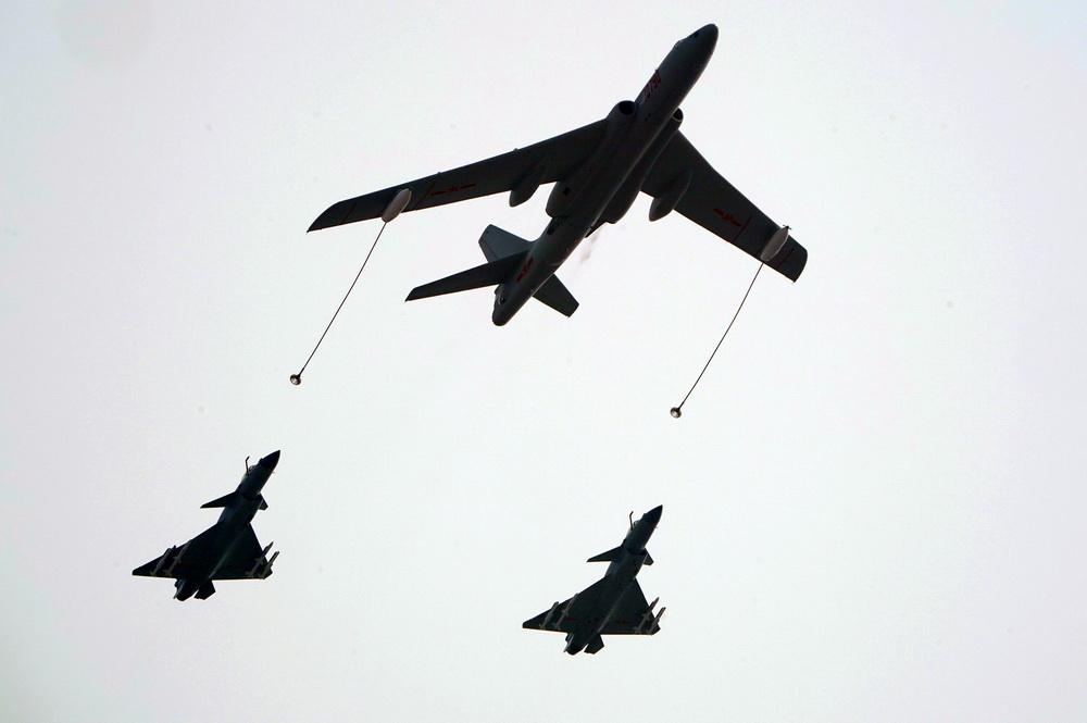 好私服・庆祝中华人民共和国成立70周年大会:空中梯队集锦