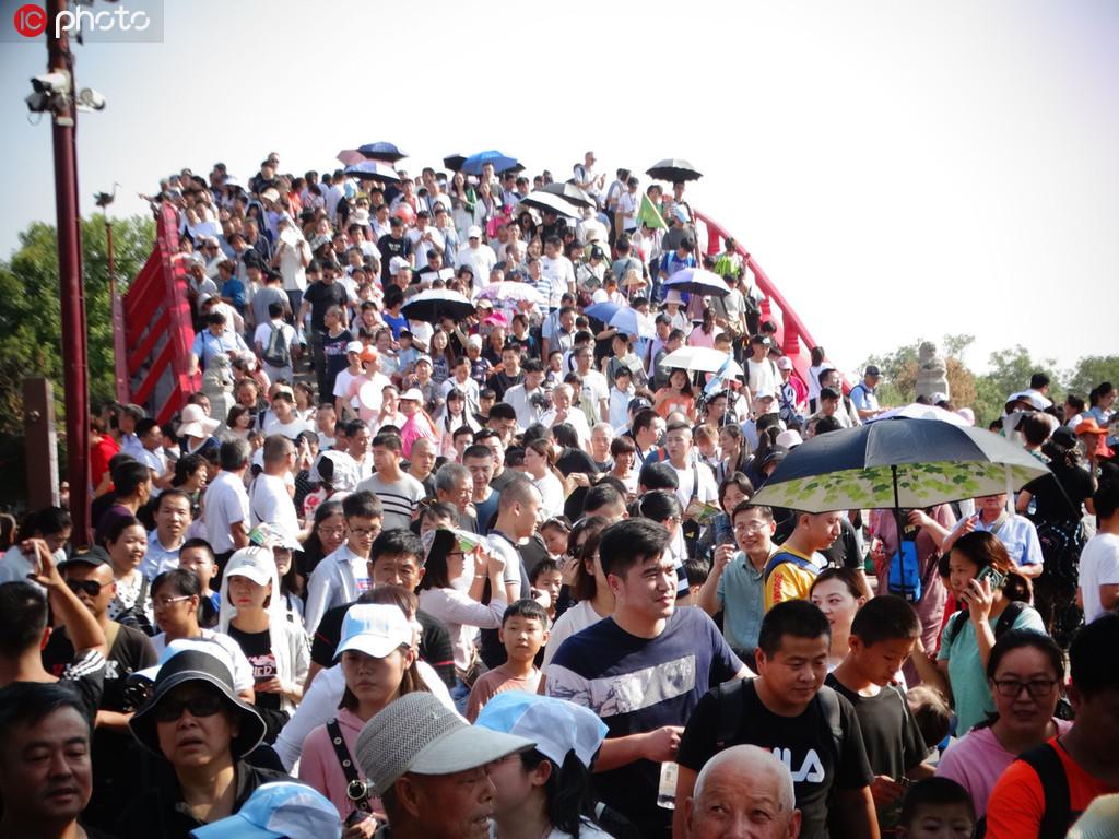 国庆假期全国接待国内游客7.82亿人次【5】