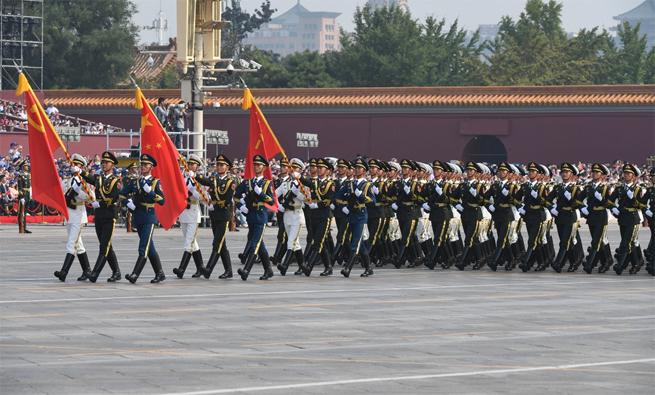 """【政治】中国人民解放军为什么被称为""""人民军队""""?"""