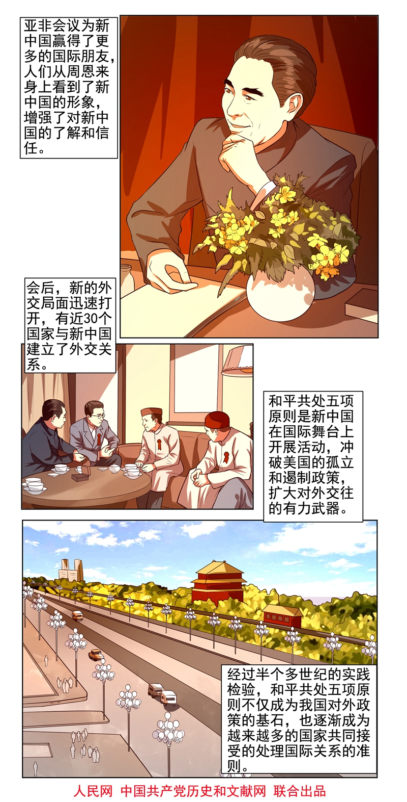 漫画新中国史:和平共处五项原则