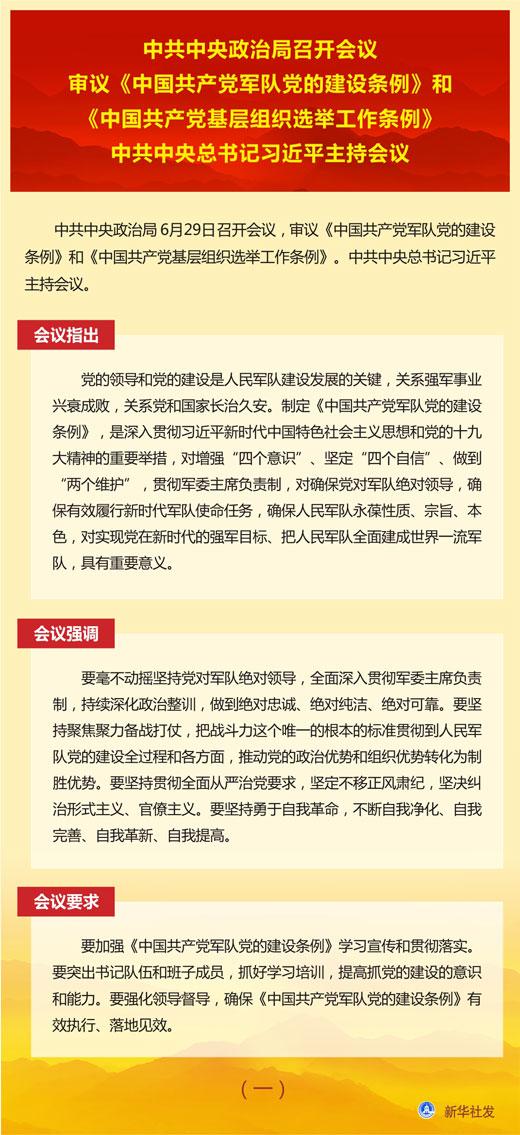 """""""七一""""前夕中央政治局召开会议透露哪些重要信息?"""