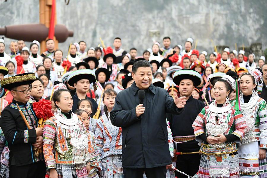 习近平赴贵州考察 向全国人民致以新春祝福(图8)