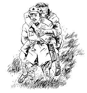 紀念紅軍長征海報手繪板