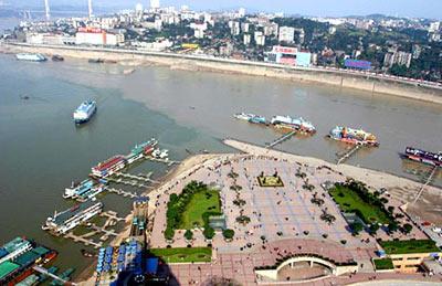 重庆朝天门广场照片-如今的朝天门-重庆市建国以来新旧图片对比图片