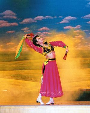 蒙古族传统舞蹈──筷子舞