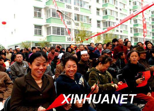 中国建设部帮助中等收入家庭解决住房困难