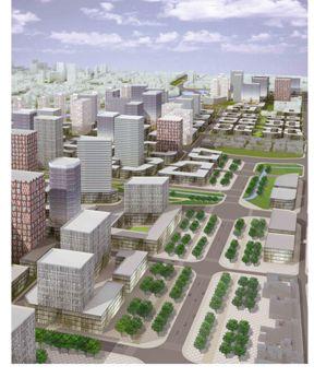 田园城市图解方案