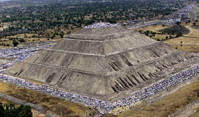墨西哥太阳金字塔