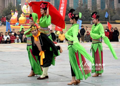 青岛开发区国际民间艺术节精彩纷呈 (5)