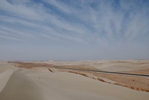 是塔克拉玛干大沙漠
